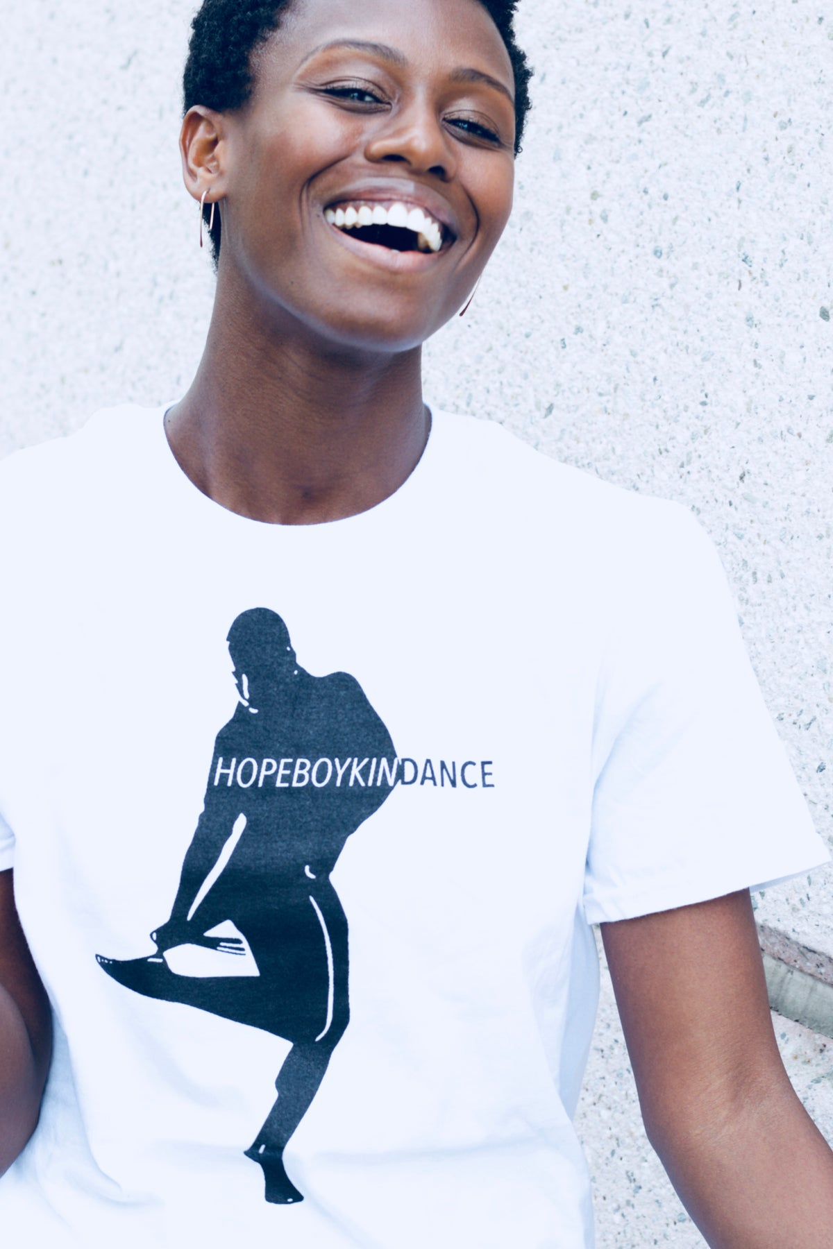 Image of HopeBoykinDance Tee White
