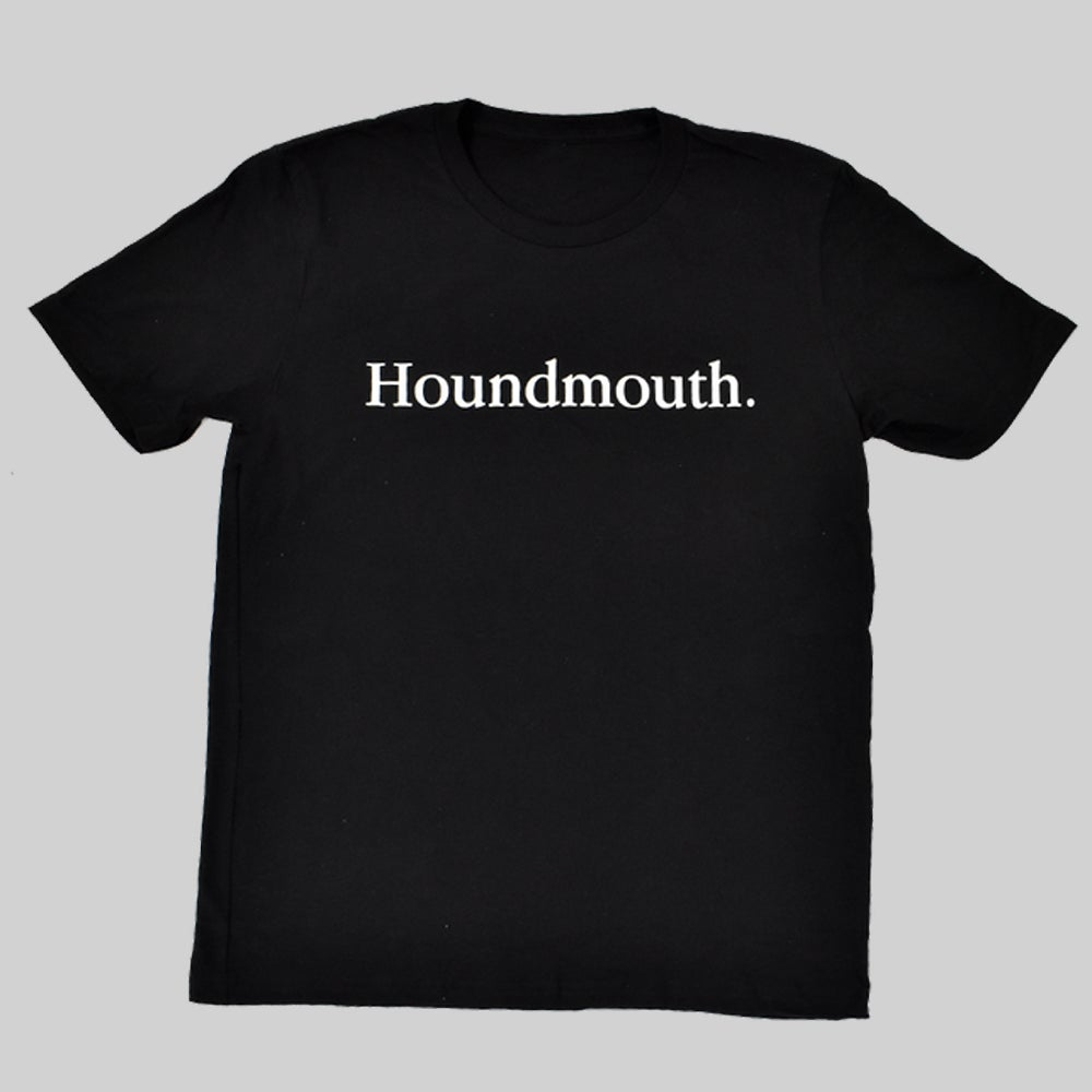 Image of Garamond Tee - Black