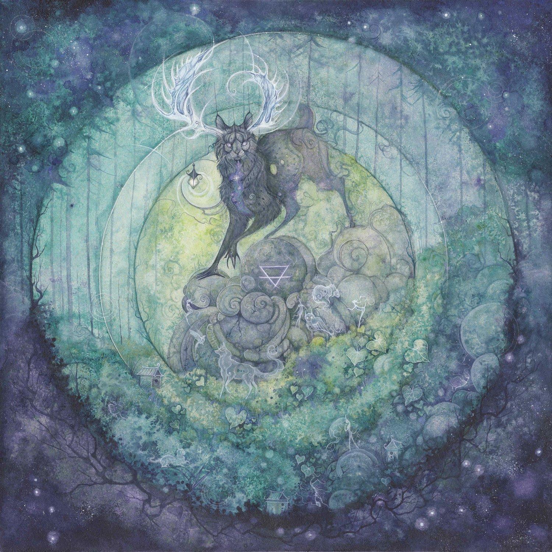 Image of Kubbi - Taiga LP [Green / Purple Cloudy Mix]