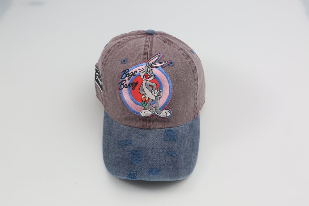 Image of Bugs Bunny Grey & Blue 2-Tone Dad Hat