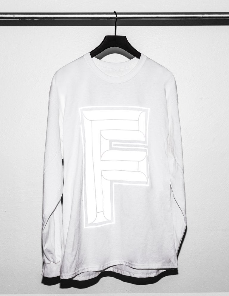 Image of F-Logo Reflex Black or White Long Sleeve
