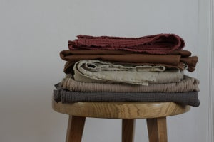 Image of linen throw