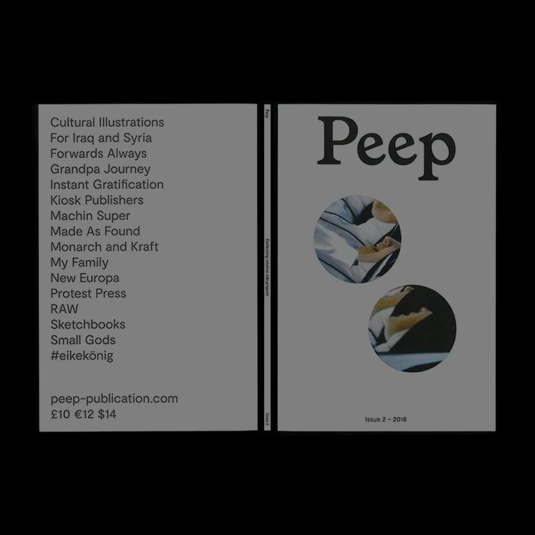 Image of Peep Issue 2 – Carlotta Di Lenardo Cover