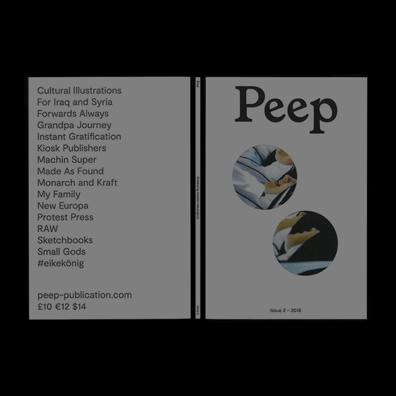 Image of Peep Issue 2 – Carlotta Di Lenardo Cover