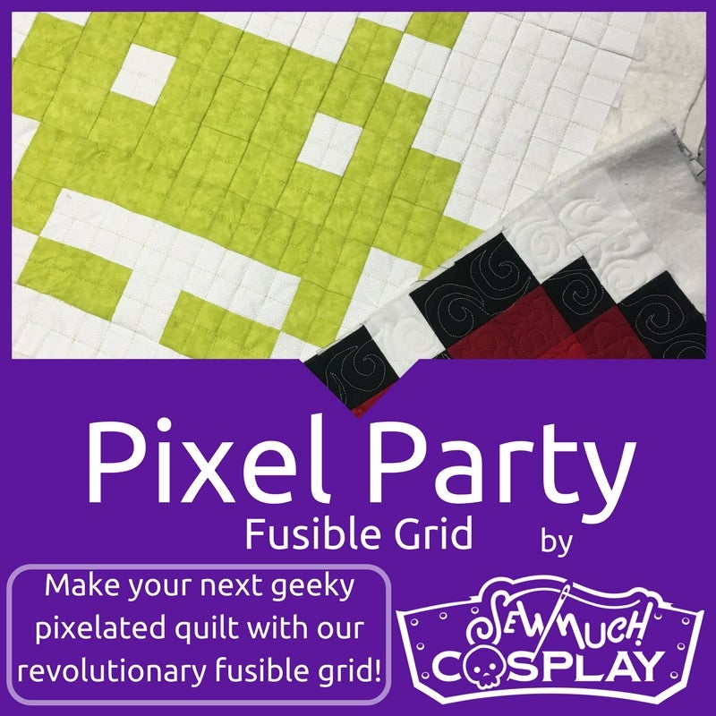 Image of Pixel Party Quilt Wash Away Fusible Interfacing