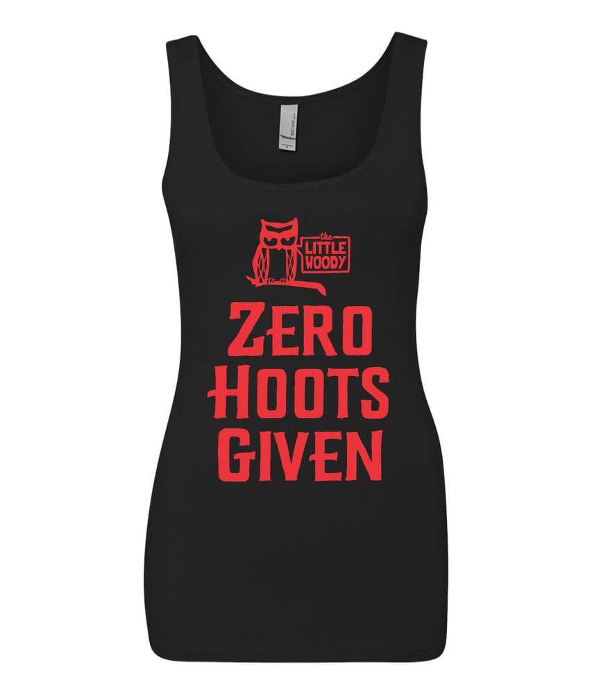 Image of Zero Hoots Ladies Tank