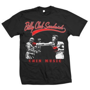 "Image of BILLY CLUB SANDWICH ""Chin Music - Muhammad Ali"" T-Shirt"