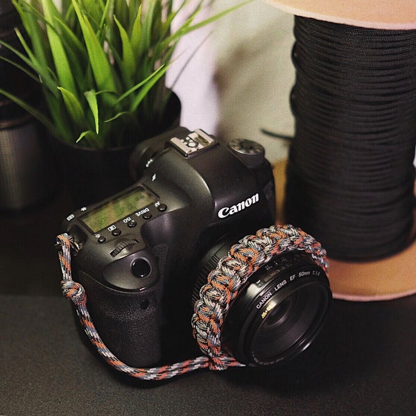 Image of Trail mix camera wrist strap