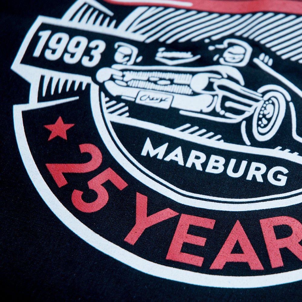 Image of Chevy »25 YEARS« Shirt Men Black