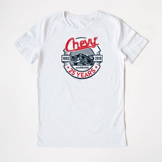 Image of Chevy »25 YEARS« Shirt Men White
