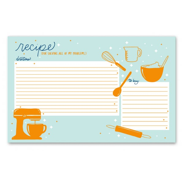 Image of Recipe Notepad