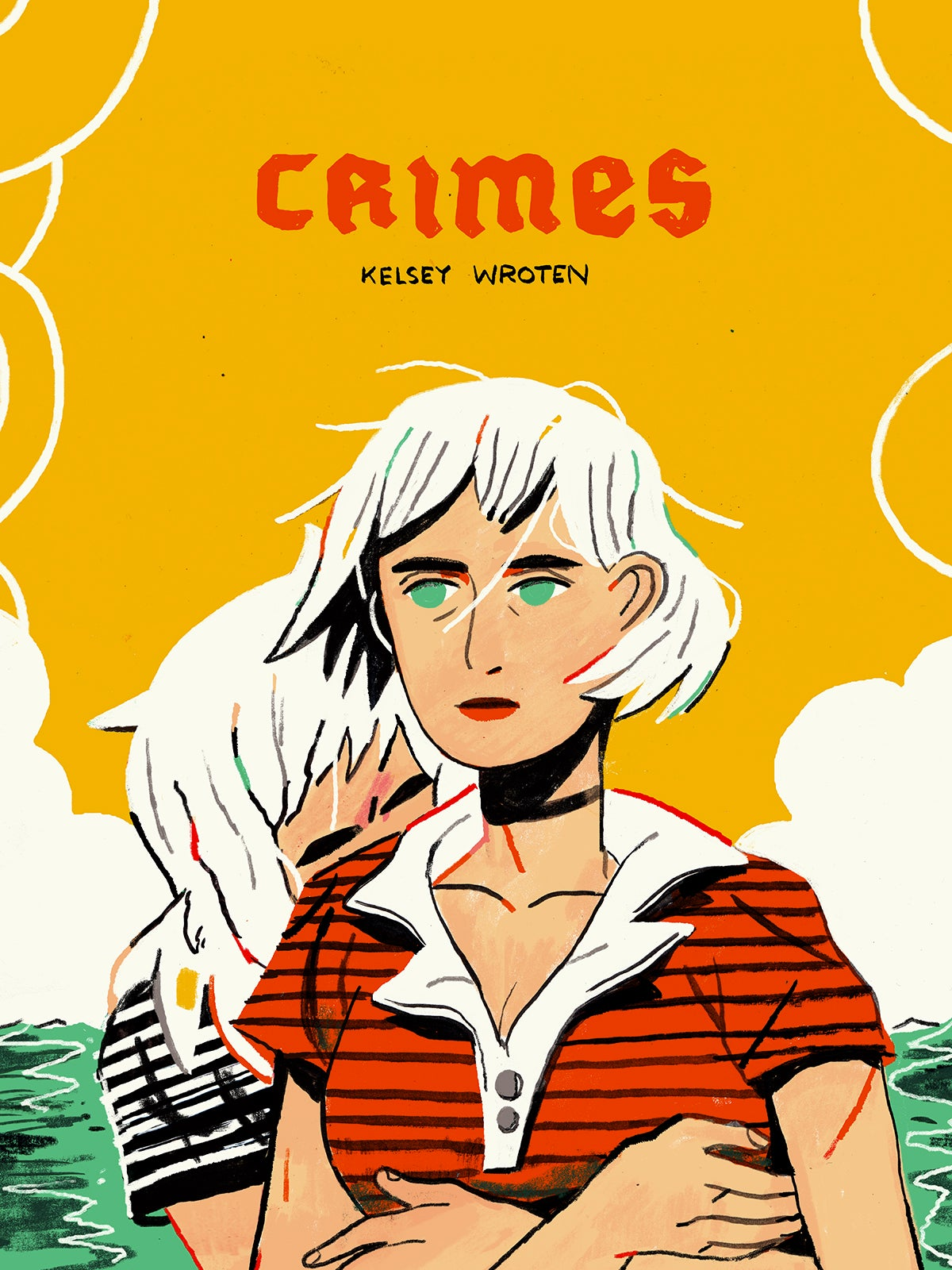 Crimes cover, published by Pyrite Press