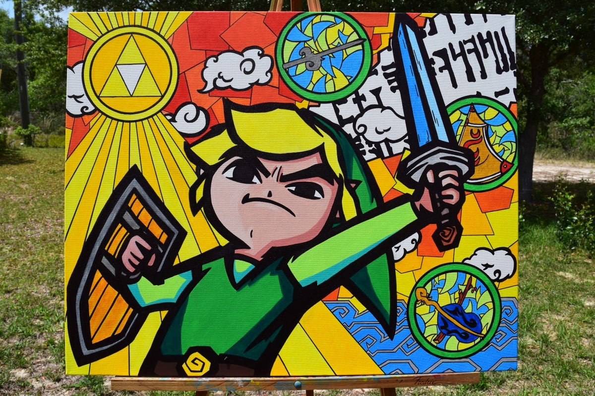 Image of Wind Waker Link Rhapsody