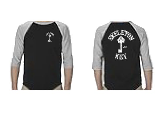 Image of Branded 3/4 sleeve Raglan Tee