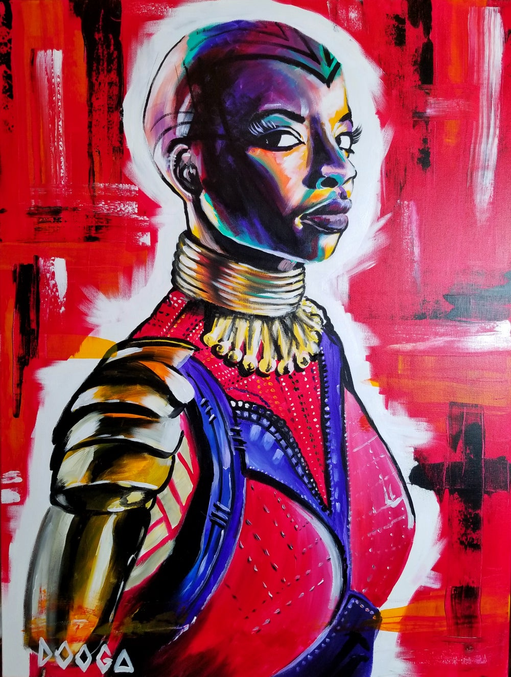 Image of Okoye - Canvas Print
