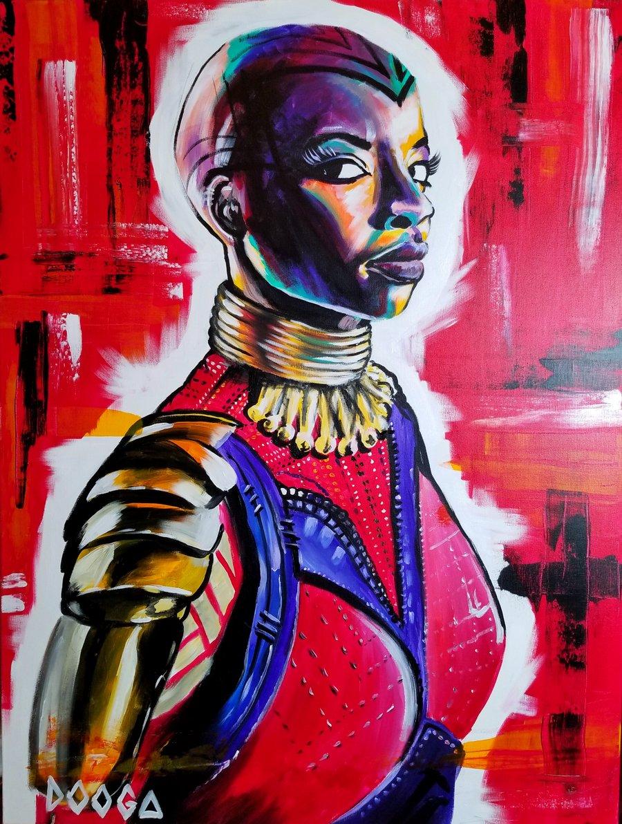Image of Okoye - Canvas Print