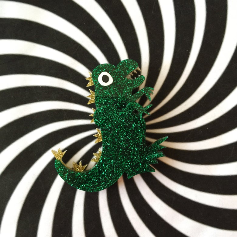 Image of Tokyo Lizard Brooch - NEW COLOURWAYS