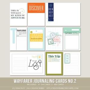 Image of Wayfarer Journaling Cards No.2 (Digital)