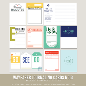 Image of Wayfarer Journaling Cards No.3 (Digital)