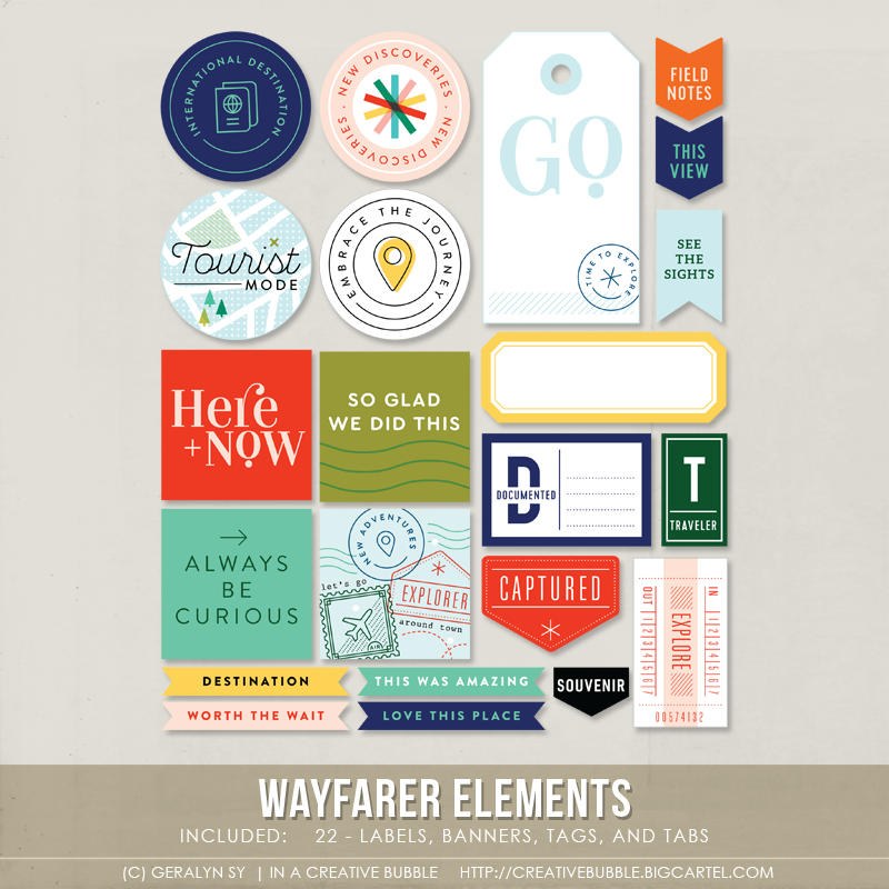 Image of Wayfarer Elements (Digital)