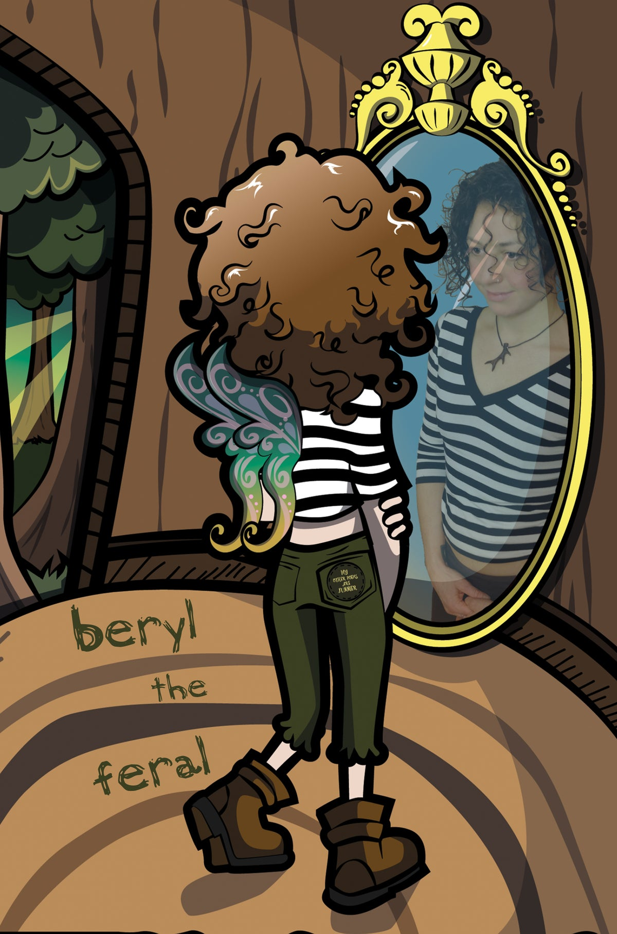 Image of My Other Poems are Funnier by Beryl the Feral
