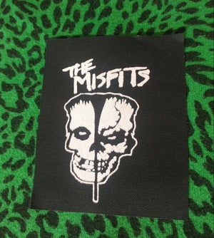 Image of Pick 1 patch - Misfits, Motorhead long rocker, The Damned