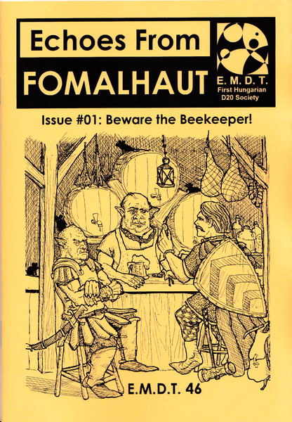 Image of Echoes From Fomalhaut #01: Beware the Beekeeper!