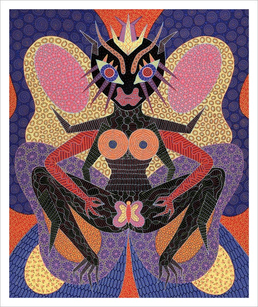 Image of Butterfly giclee print