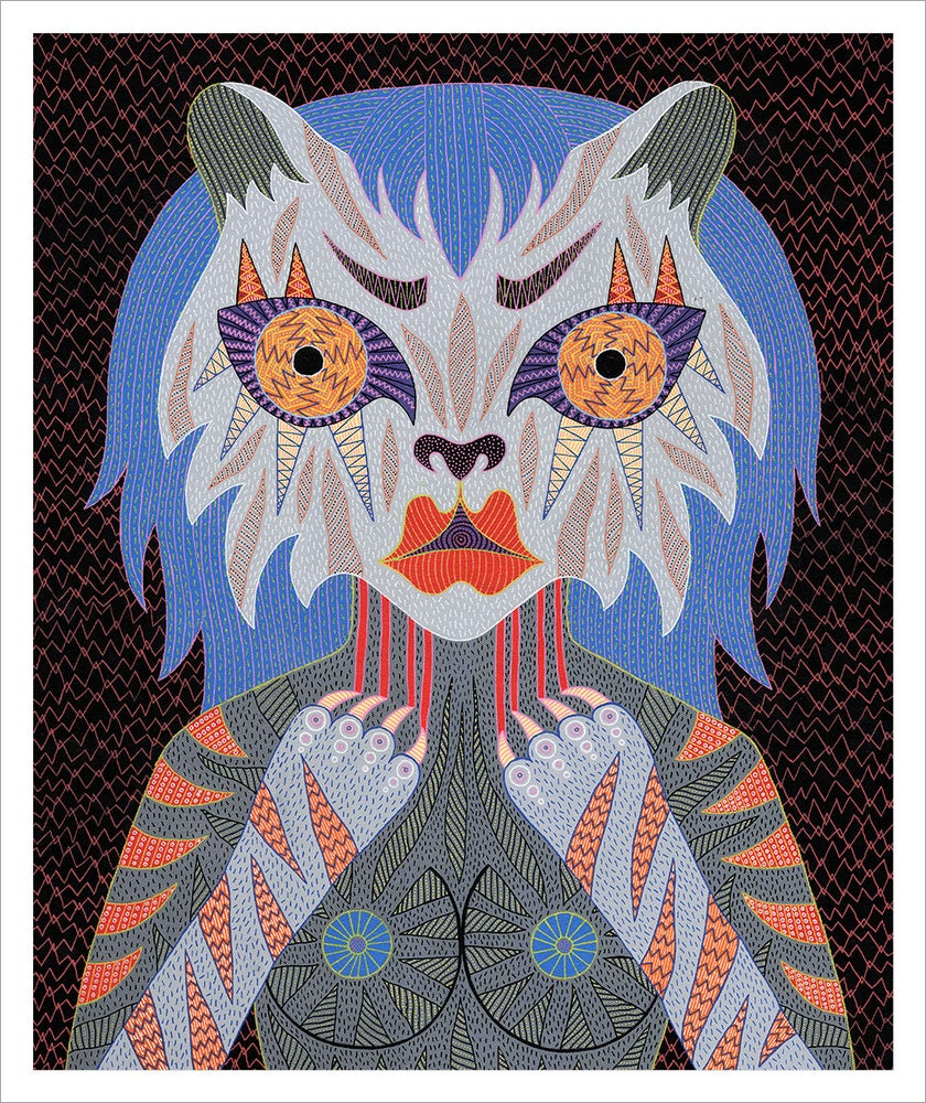 Image of Tiger giclee print