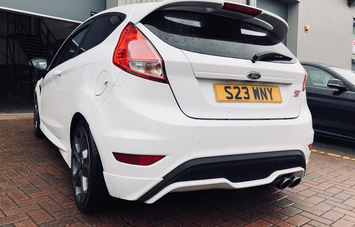 Image of Remus Exhaust Non-Res MK7 Ford Fiesta ST