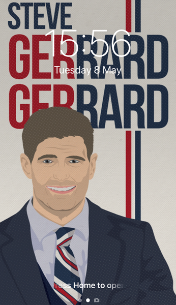 Image of Steve Gerrard Gerrard phone wallpaper