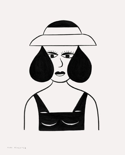 Image of Andy Rementer - Lady 2