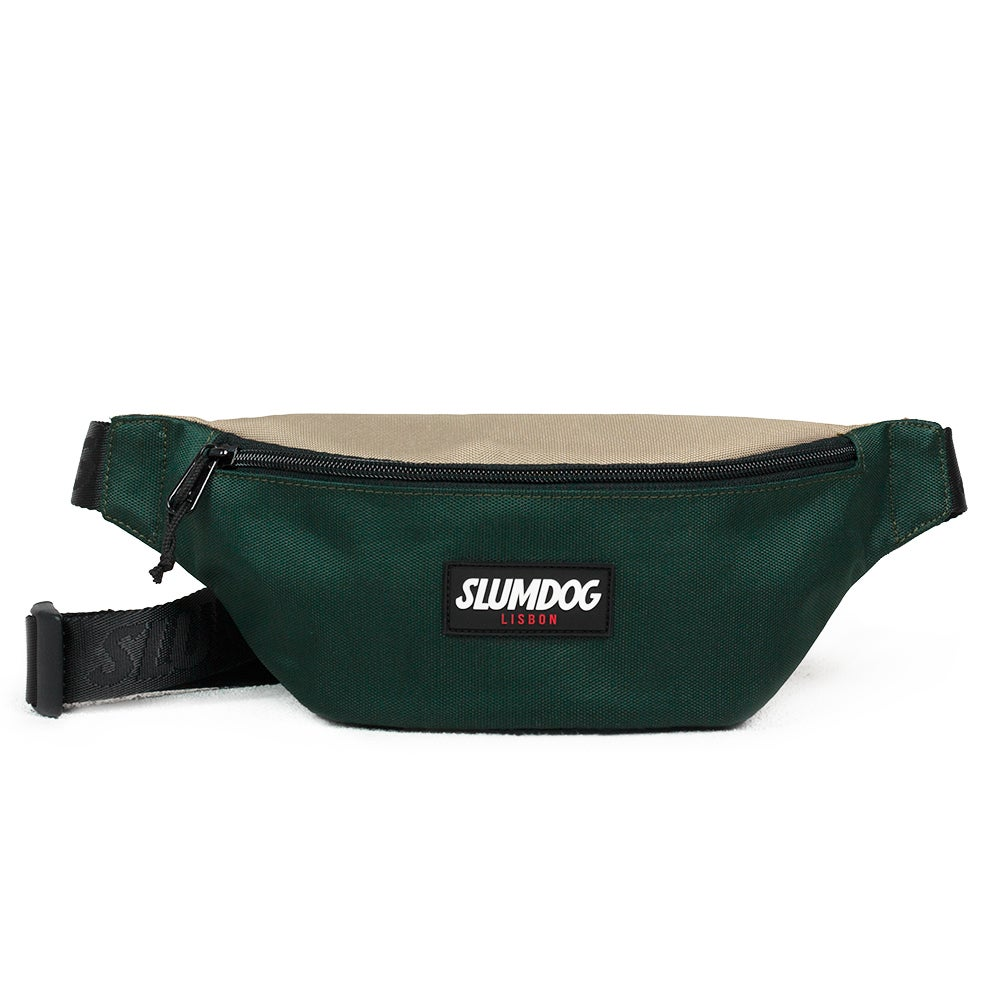 Image of WAIST BAG <br> BEIGE GREEN