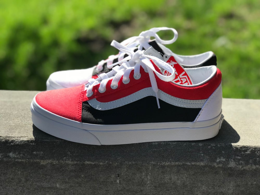 Image of Red & Black Vans (Top 3 Inspired)