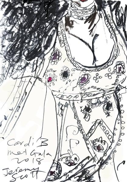 Image of Cardi B MetGala2018