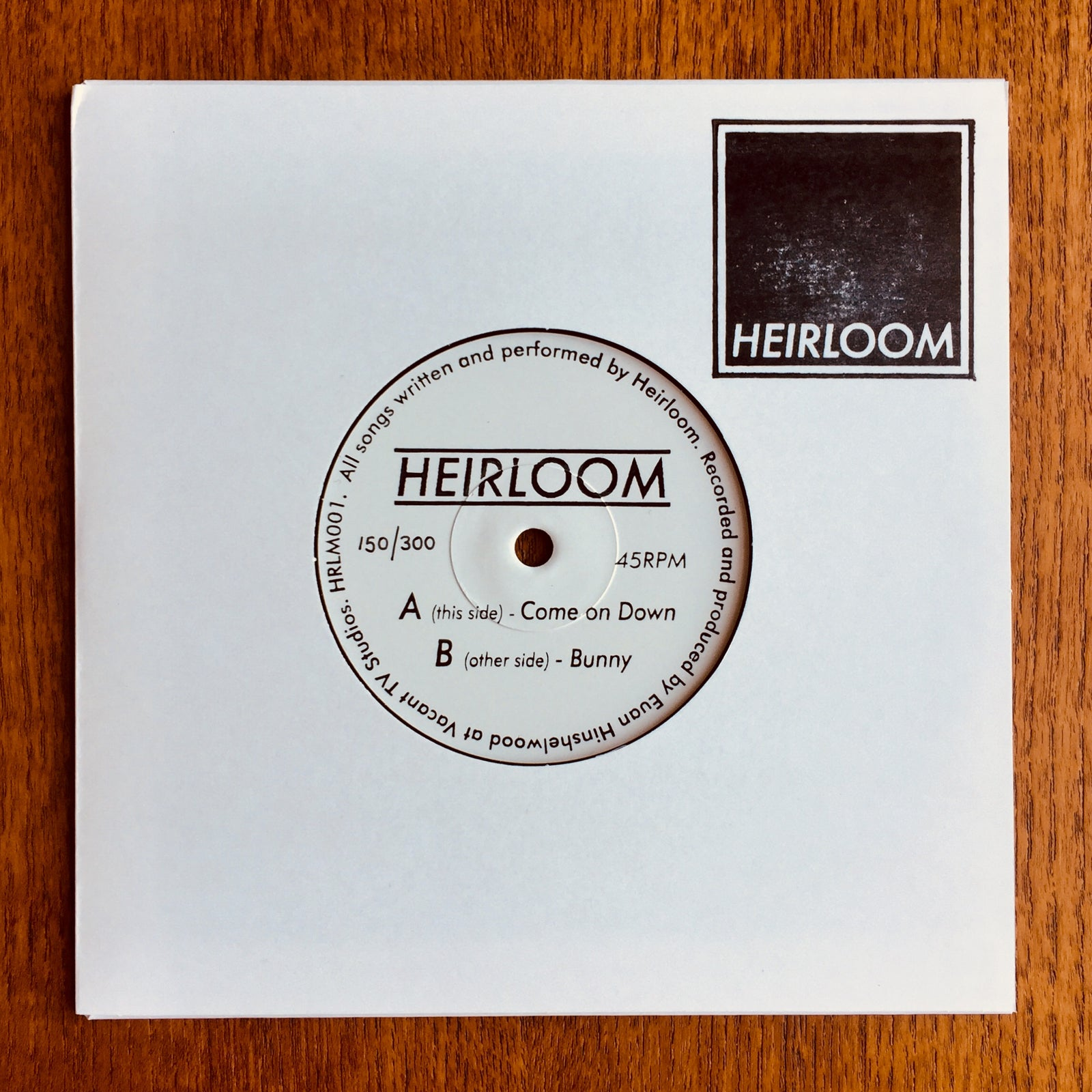 "Image of Come On Down / Bunny 7"" Vinyl"