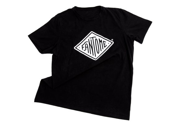 Image of T-shirt Made in France 100% Coton BIO NOIR _ FANTOME