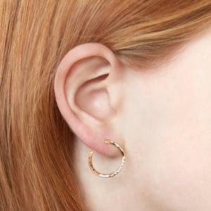 Image of Illusion Hoop Earrings
