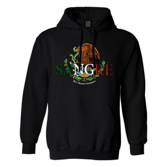 Image of Mexican Sangre Hoodie (Black)