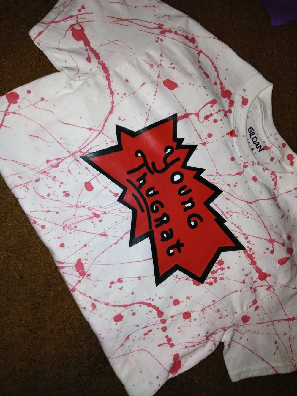 Splattered Young Thugrat T-shirt