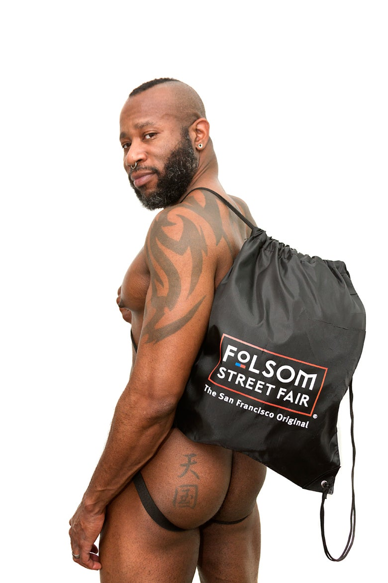 Image of Folsom Street Fair Drawstring Backpack