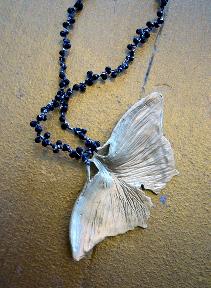Image of Moth necklace by Swallow