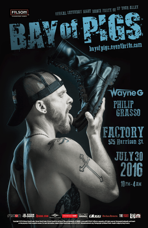 Image of 2016 Folsom Street Events Posters