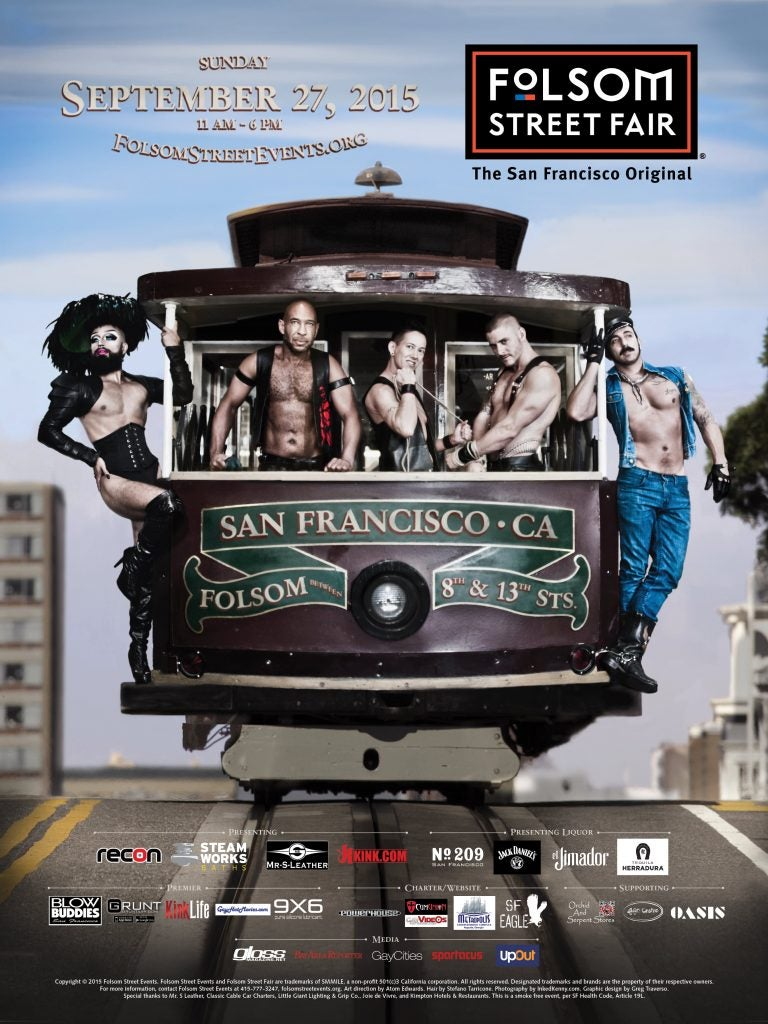 Image of 2015 Folsom Street Events Posters