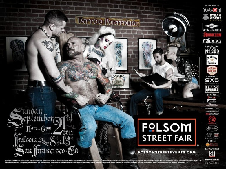 Image of 2014 Folsom Street Events Posters