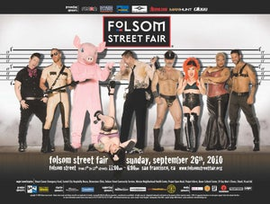 Image of Folsom Street Fair Posters 2013-2010