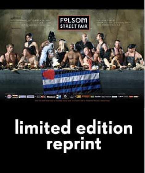 "Image of 2007 ""Last Supper"" Folsom Street Fair Poster"