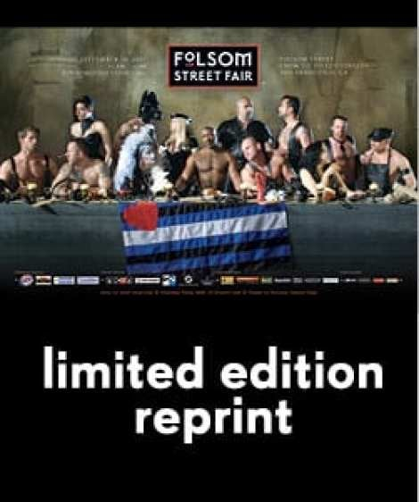 "Image of 2007 ""Last Supper"" Folsom Street Fair Poster"