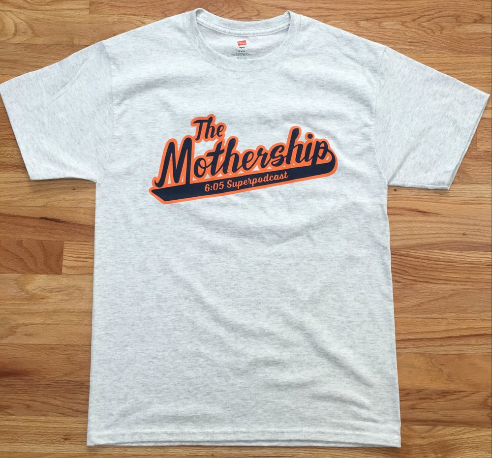 Image of The Mothership Logo Shirt (Ash Grey)