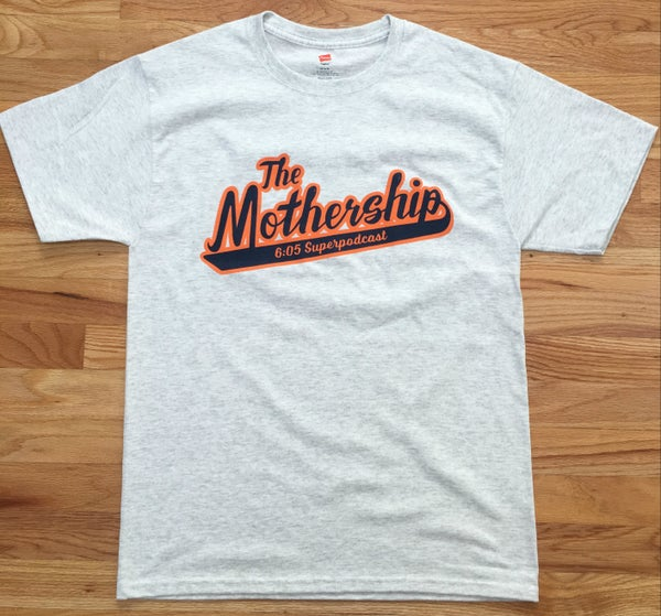 Image of The Mothership Logo Shirt (Ash Grey)